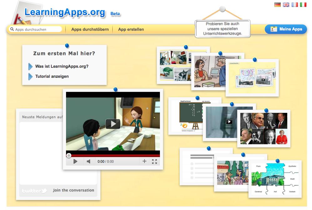 LearningApps – online lernen leicht gemacht