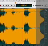 ocenaudio – Altenative zu Audacity