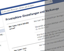 Sicherer Umgang mit Facebook